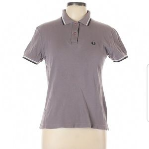 Fred Perry Grey Polo